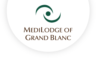 Medilodge of grandblanc web logo
